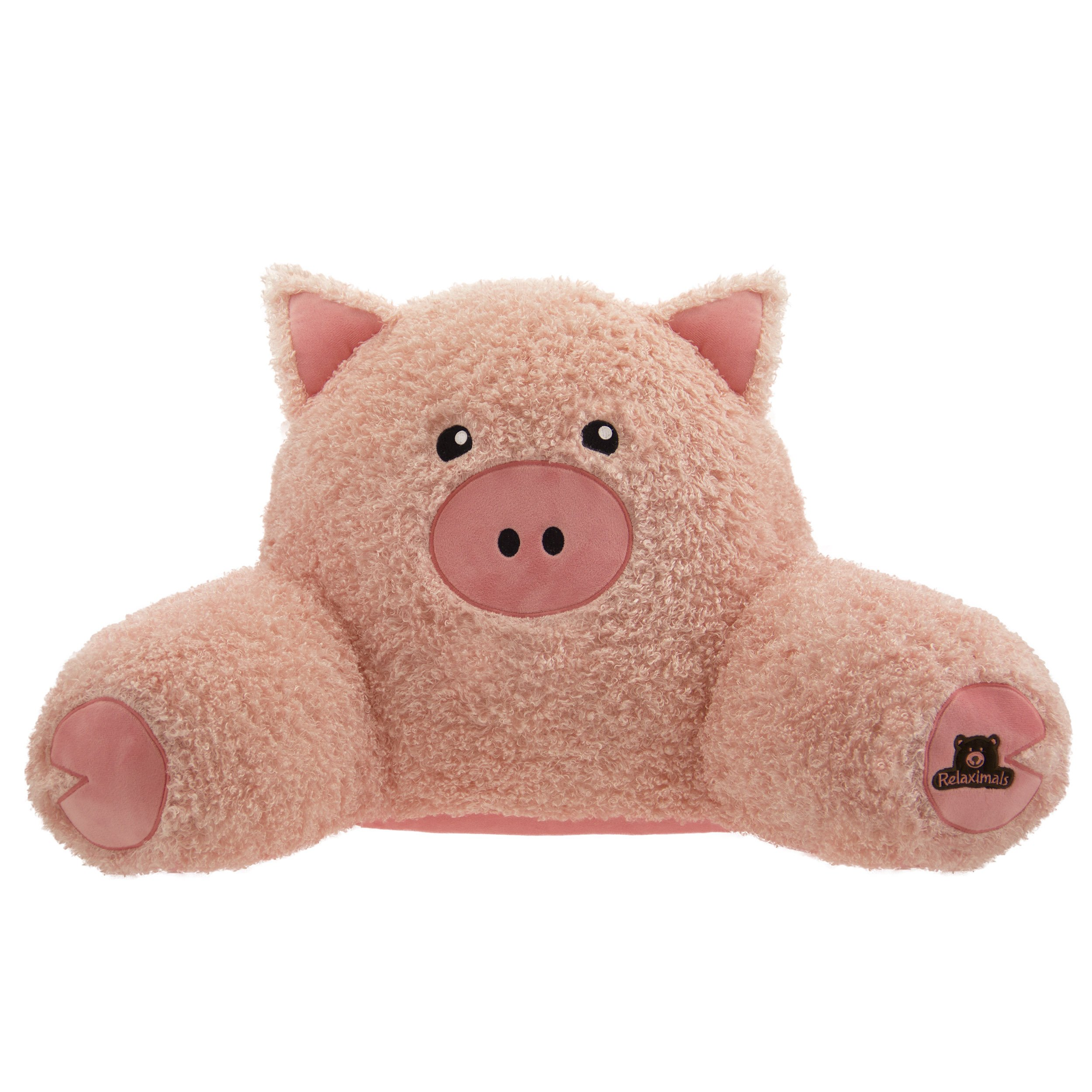 Relaximals Pig Kids Reading Pillow by Relaximals
