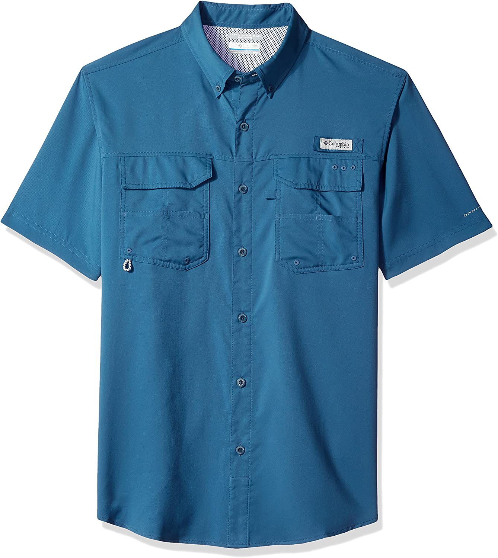 Columbia Mens Blood and Guts III Short Sleeve Woven Shirt