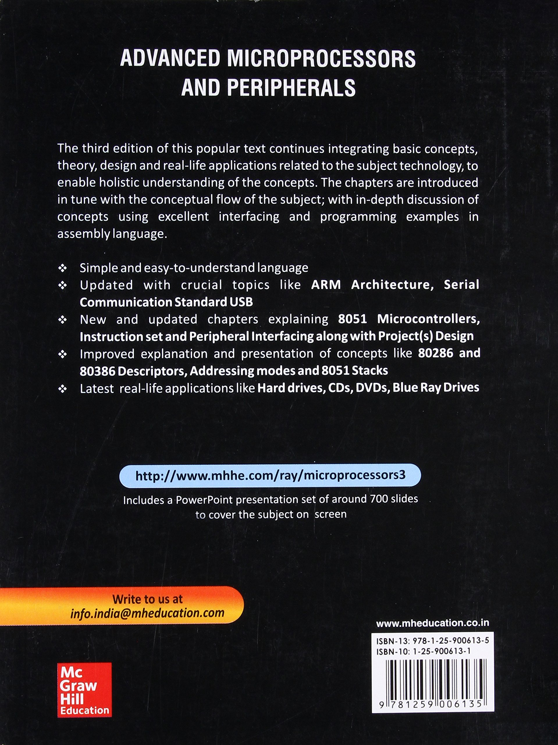 Advanced Microprocessors and Peripherals, 3nd ed : Amazon co uk: A K