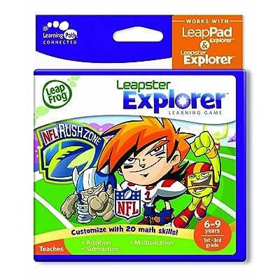 LeapFrog Explorer Learning Game: NFLRush Zone (works with LeapPad Explorer & Leapster Explorer): Toys & Games