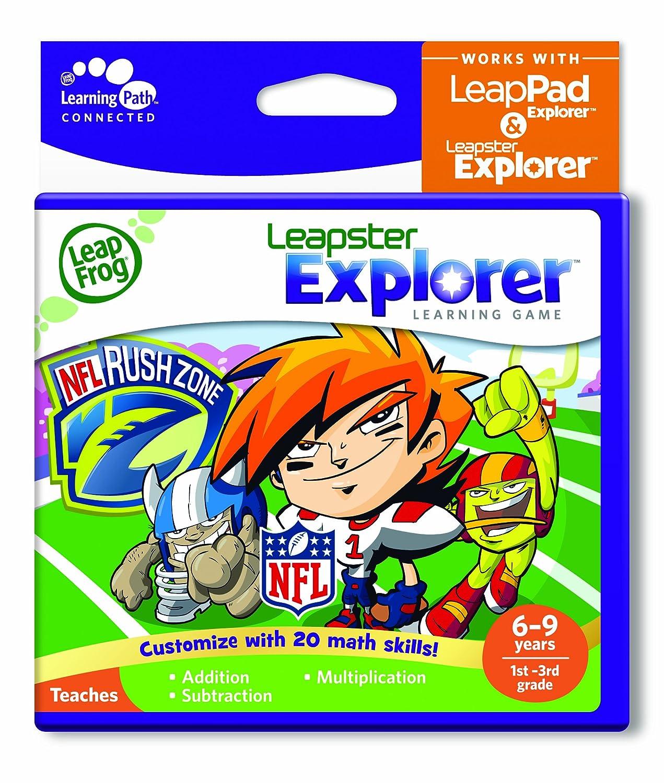 amazon com leapfrog explorer learning game nflrush zone works