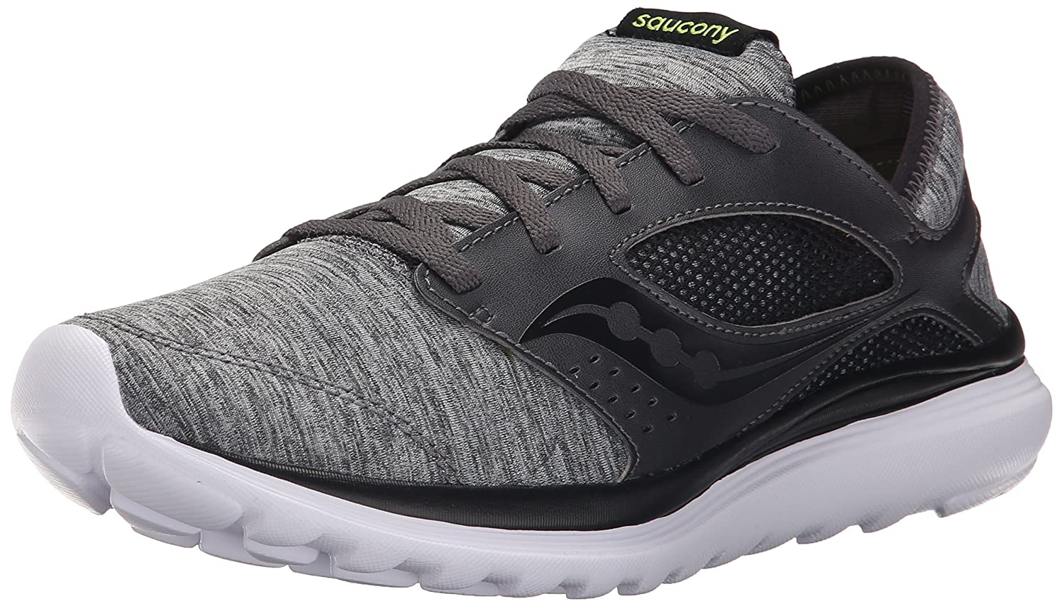 Saucony Men's Kineta Relay Running Shoe B00YBHLCYQ 8 D(M) US|Heather/Black