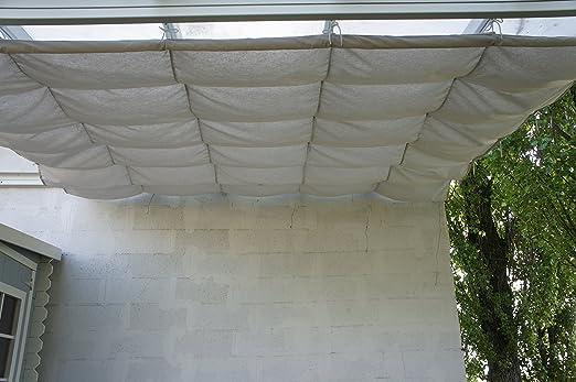Chalet-Jardin 12-806016 - Couvterrasse corredera de Lona terraza ...