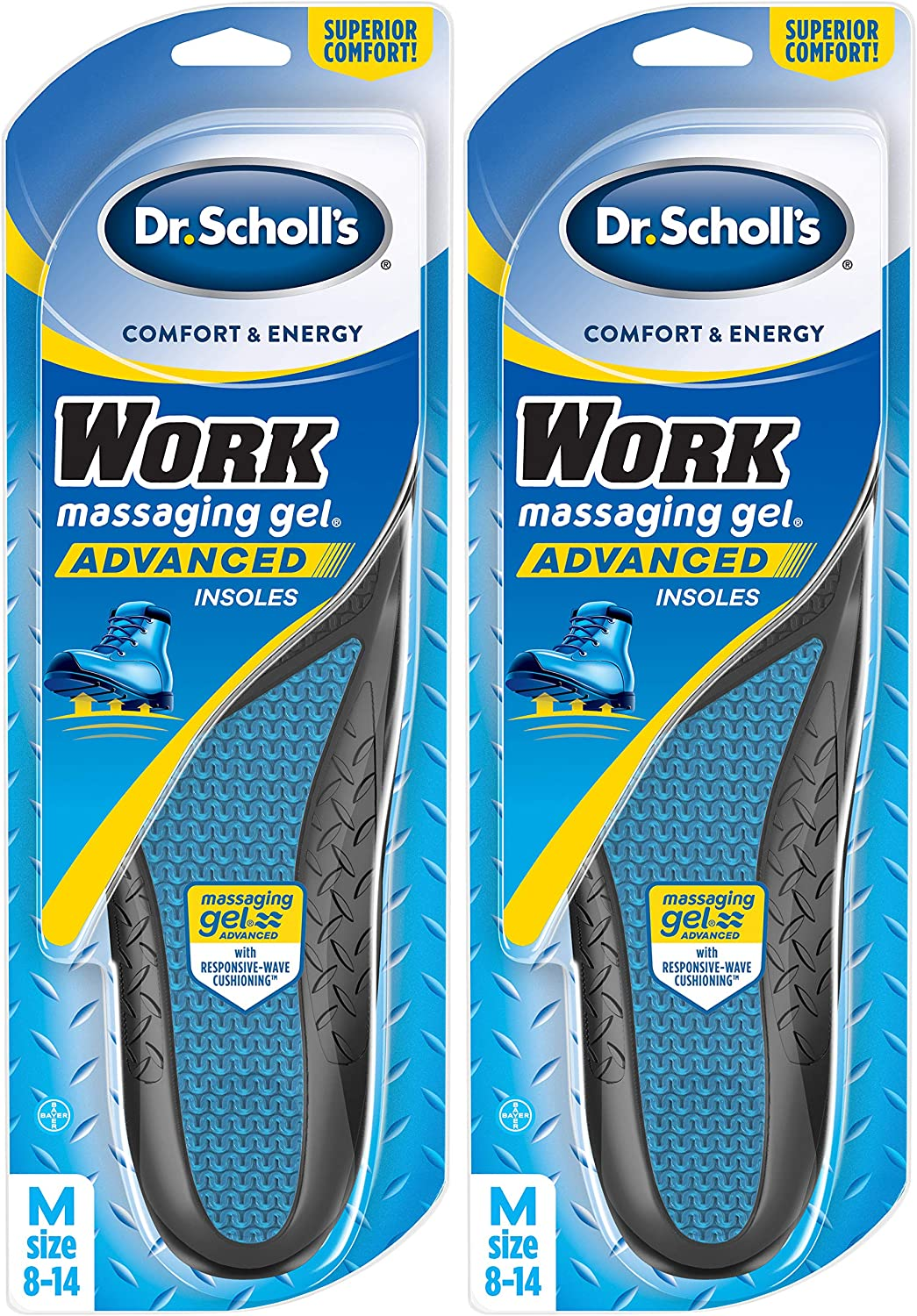 Dr. Scholl's Work Insoles (Pack