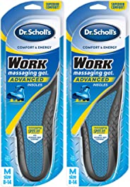 Dr. Scholl's WORK Insoles (Pack 2) // All-Day Shock Absorption and Reinforced Arch Support that Fits in Work Boots and More