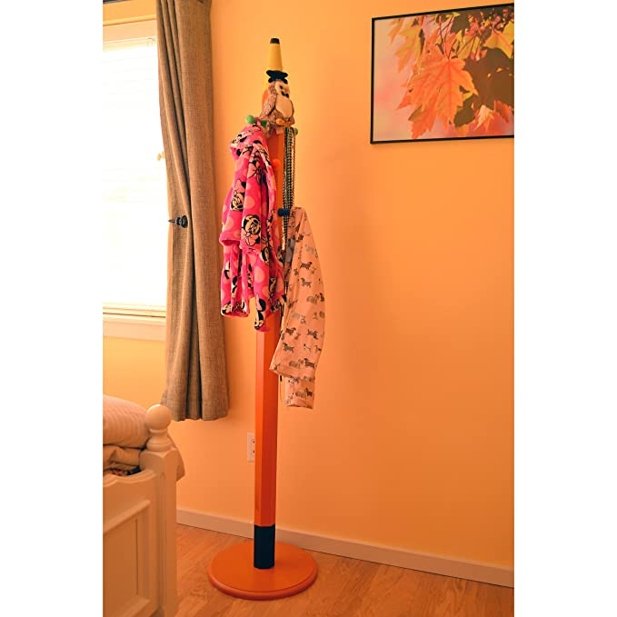 Amazon.com: 6-ft naranja lápiz de madera perchero perchero ...