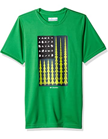 30d73311 Columbia Baby Boys' Badge N' Flag Short Sleeve Shirt