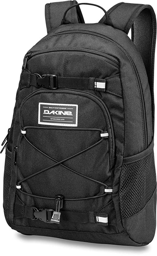 fe3aa970292 Amazon.com: Dakine Youth Grom Backpack, Black: Sports & Outdoors