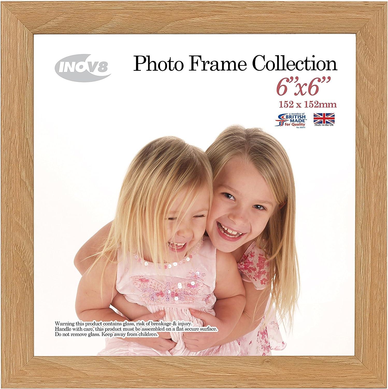 30.48cm x 30.48cm 12x12 Inov8 Framing Photo Frame Lime Oak 12x12 1PK