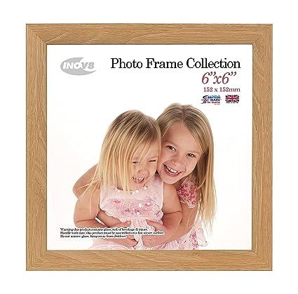 Inov8 6 X 6 Inch Photo Frame Lime Oak Amazoncouk Kitchen Home