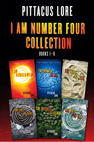 Amazon.com: I Am Number Four Collection: Books 1-6: I Am Number Four, The  Power of Six, The Rise of Nine, The Fall of Five, The Revenge of Seven, The  Fate of Ten (