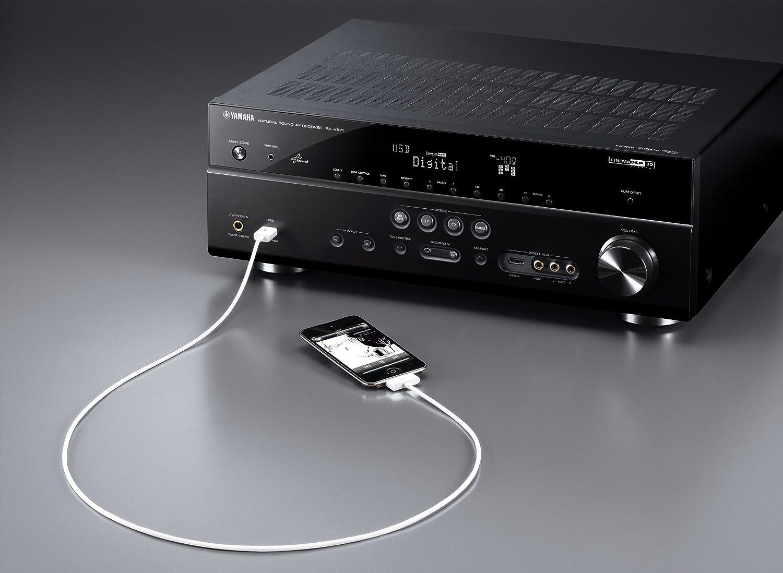 amazon com yamaha rx v671 7 1 channel network av receiver home rh amazon com Yamaha Stereo Manuals yamaha 671 receiver manual