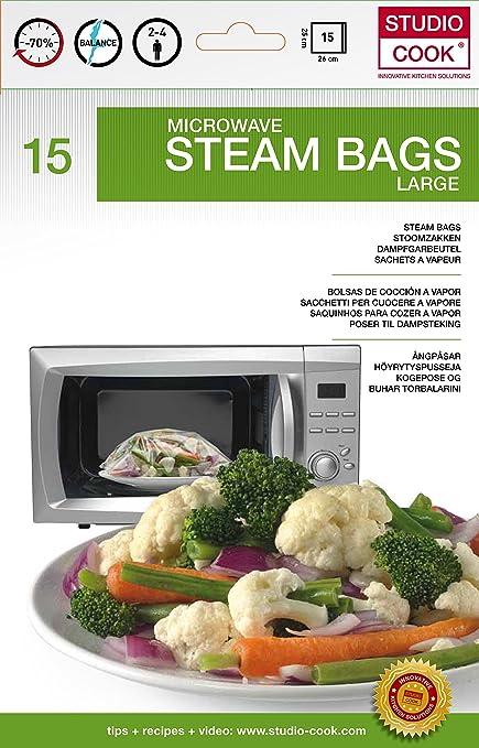 Studio Cook sbcw15 - Juego de 15 Bolsas de cocción Pet ...