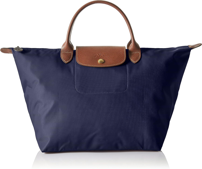 Longchamp Le Pliage Top-Handle Bag Medium Navy One Size