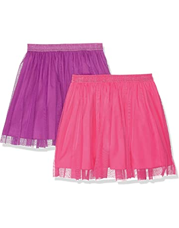 749b40c12aeb Amazon Brand - Spotted Zebra Girls  2-Pack Tutu Skirts