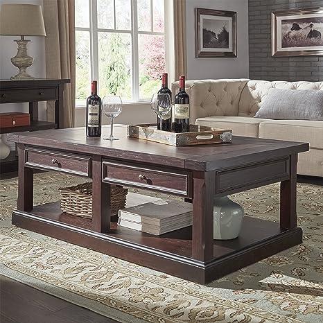 Amazon.com: Juego de mesa rectangular de café, sofá, acento ...