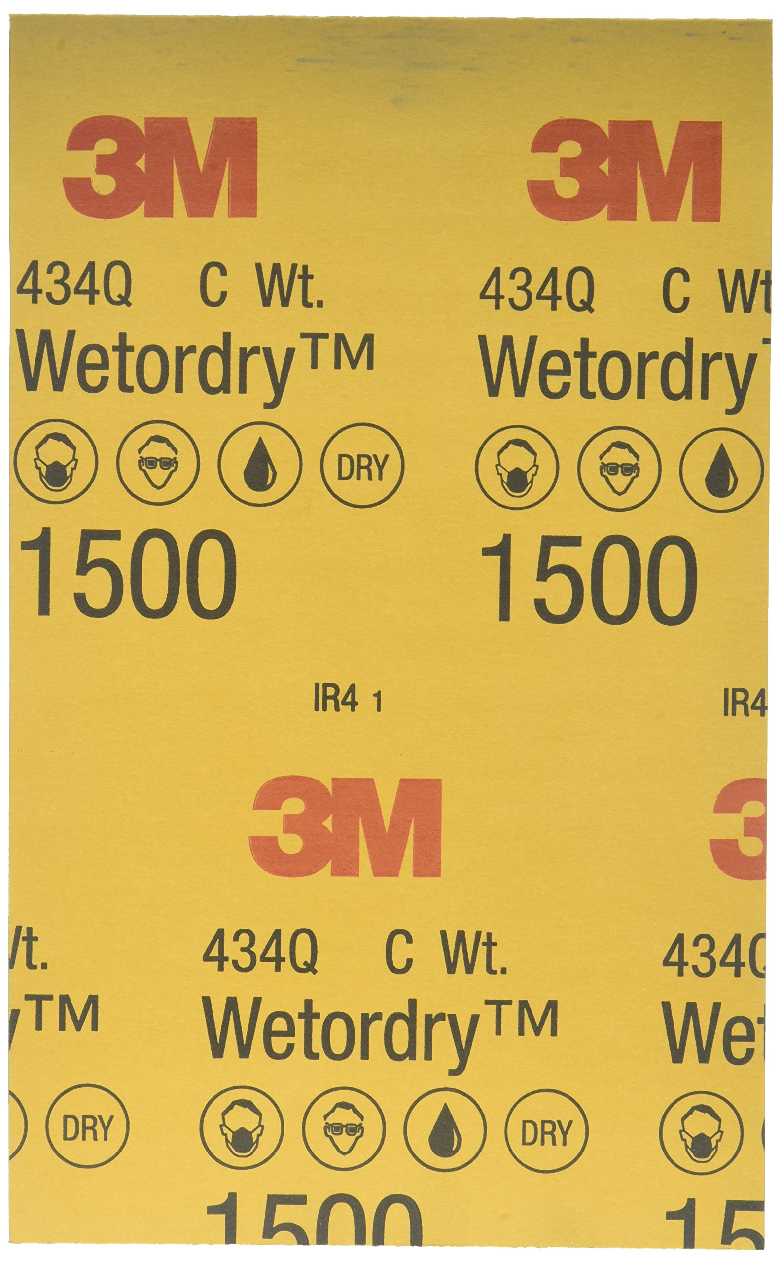 3M 02623 Imperial Wetordry 5-1/2'' x 9'' 1500C Grit Sheet by 3M (Image #2)