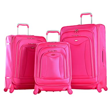 Olympia Luxe 3 Piece Expandable Spinner lugguage