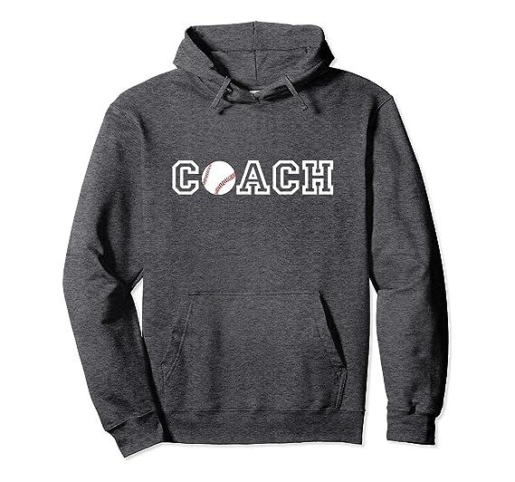 33cb64ec7c33 Unisex Baseball Coach Hoodie - Appreciation Gift for Baseball Coach 2XL  Dark Heather