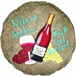 Spoontiques Wine Stepping Stone
