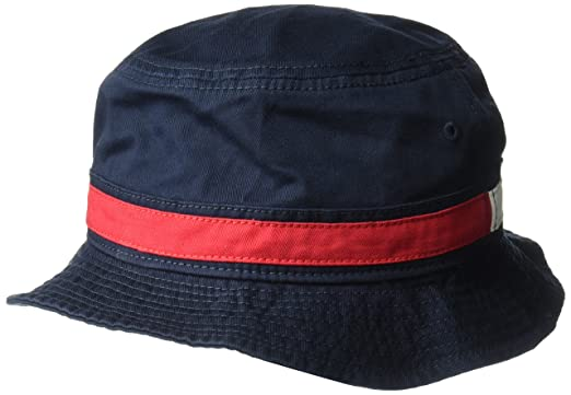 b5cf8458f548a Tommy Hilfiger Men s Dad Hat Flag Bucket Cap