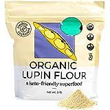 Organic Lupin Flour - 2 lbs - Modern Cupboard, High Protein Flour for Baking, Keto-Flour Gluten-Free, Non-GMO