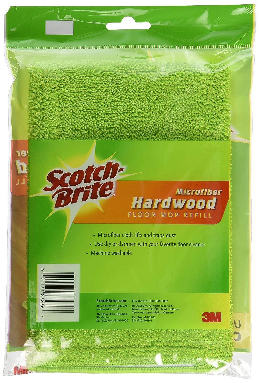 Scotch brite bathroom floor cleaner refills - Amazon Com Scotch Brite Microfiber Hardwood Floor Mop Refill 1 Count Home Improvement
