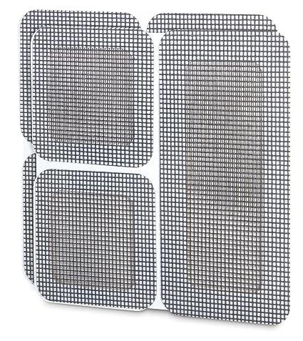 Window And Door Screen Repair Patches 6 Pcs Set   Strong Fiberglass    Adhesive Backing