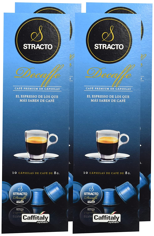 Stracto Descafeinado Cápsulas De Café - 90 gr - [Pack de 4]