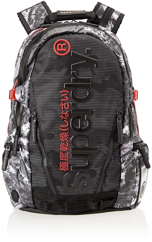c93a8aa95 Amazon.com: Superdry Mesh Tarp, Men's Backpack, Black (Alpine Black),  34x45x15 cm (W x H L): Shoes