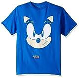 SEGA Boys Sonic The Hedgehog Big Face Short