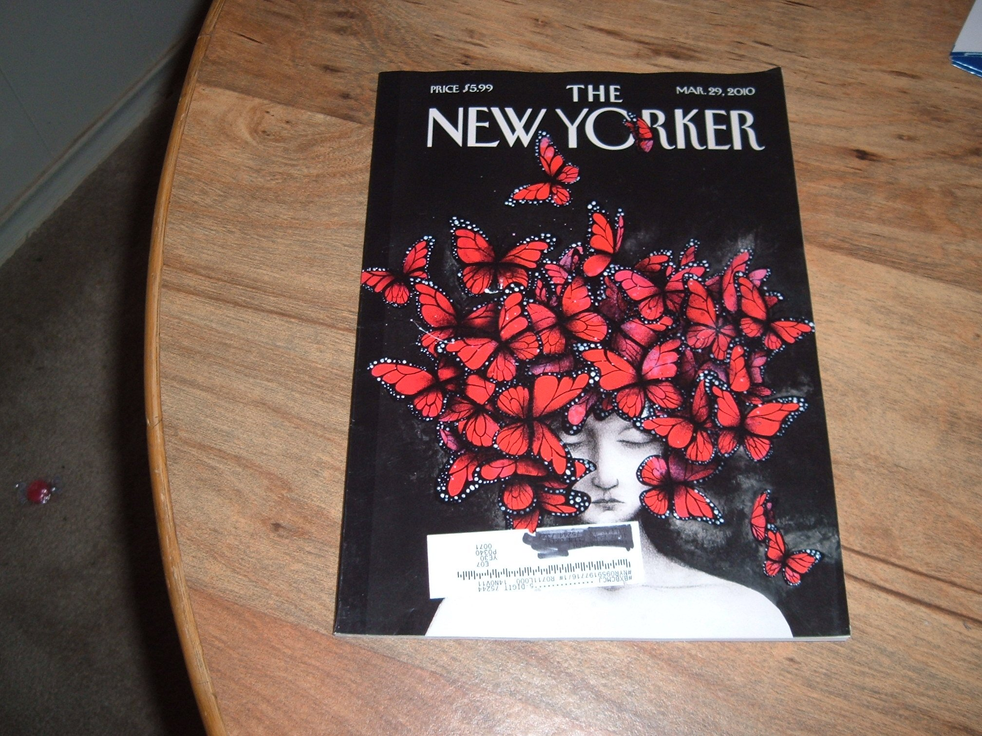 ac233fd71 The New Yorker magazine, March 29, 2010-Obama and Israel & Letter from  Umbria. Single Issue Magazine – 2010