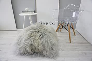 Amazon.com: Genuine Natural Rare Breed Icelandic Sheepskin Giant ...