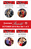 Harlequin Presents October 2015 - Box Set 1 of 2: Claimed for Makarov's Baby\Reunited for the Billionaire's Legacy\Seducing His Enemy's Daughter\The Return of Antonides
