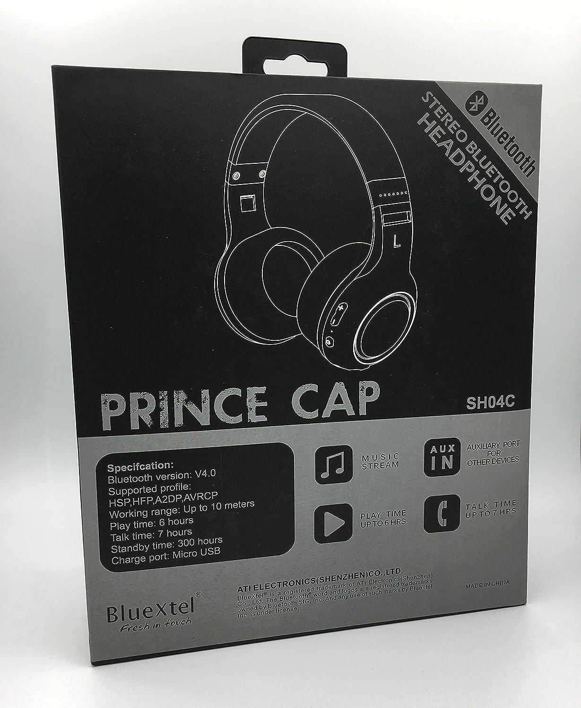 Auricular Bluetooth Bluextel. Auricular inal‡mbrico muy ligero, sonido estereo de calidad, control de volumen con micr-fono incorporado, magnficos graves: ...