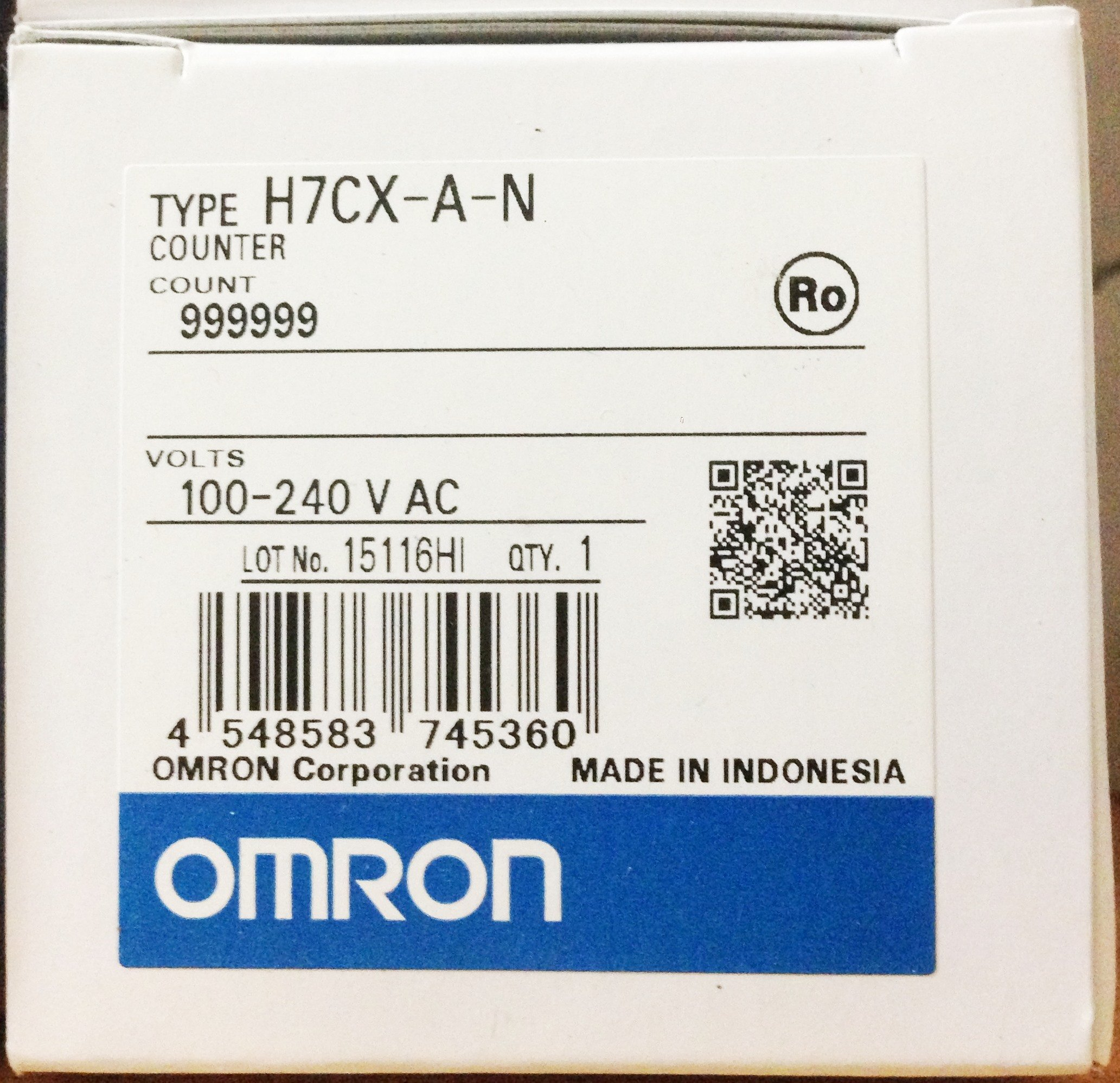 Omron H7CX-A-N Digital Counter