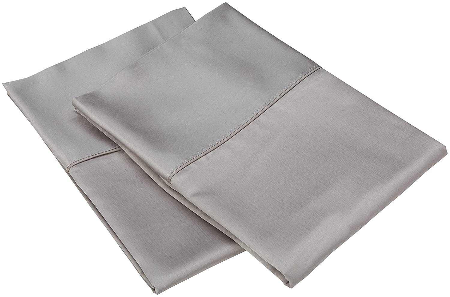 Grey Inc 577888 King Veratex Luxurious Contemporary Style 100/% Micro Tencel Fabric Made in the USA 600 Thread Count Elegant Pillowcase Pair