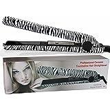 RoyalCraft TM Luxury Wild Collection - Professional Ceramic Tourmaline Flat Iron Hair Straightener in Classic Zebra Style