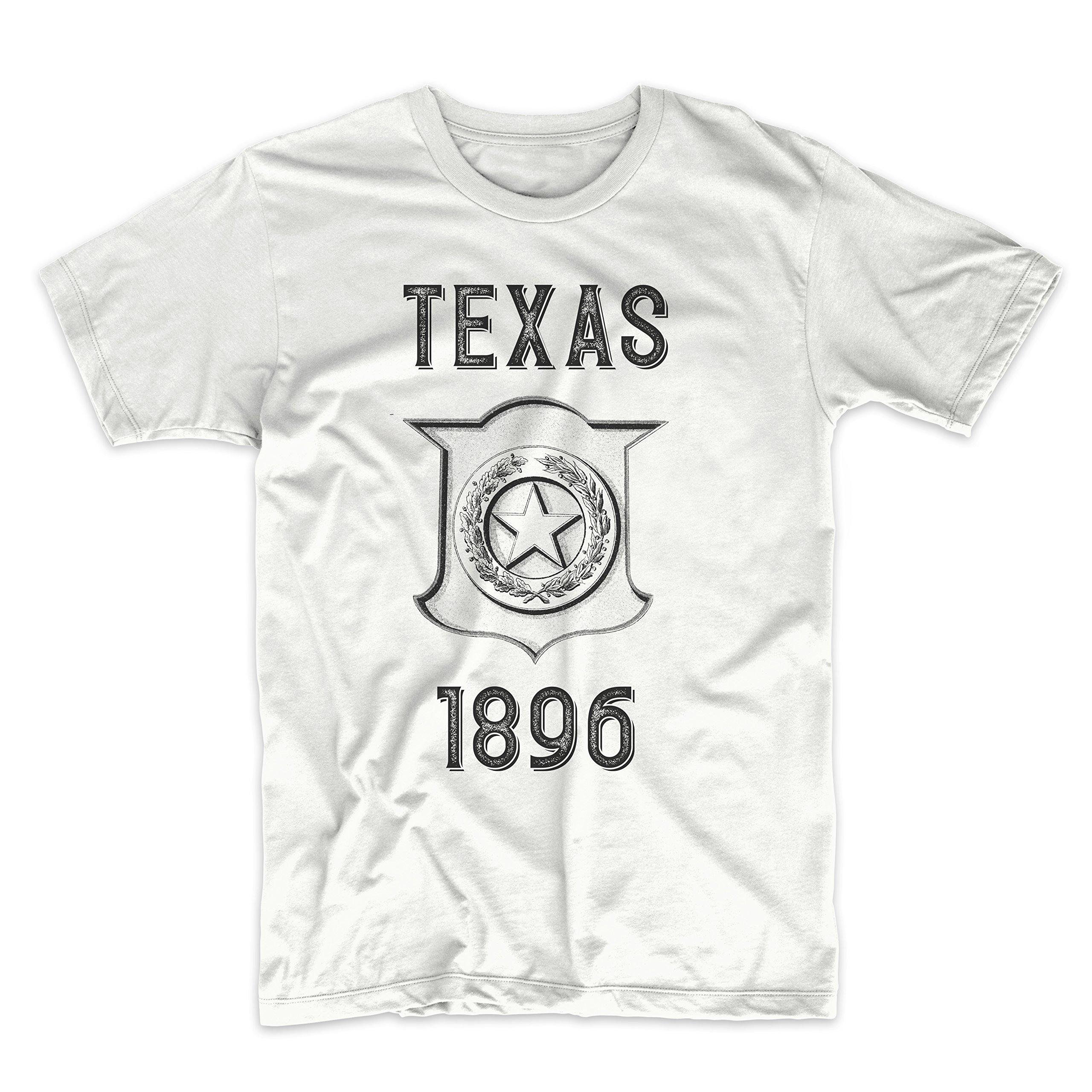 PatentPrints Texas Coat of Arms T Shirt