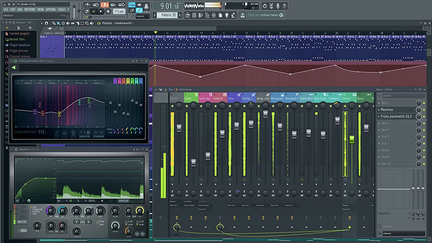 FL Studio Producer Edition 12 - Software para producción de música: Amazon.es: Instrumentos musicales