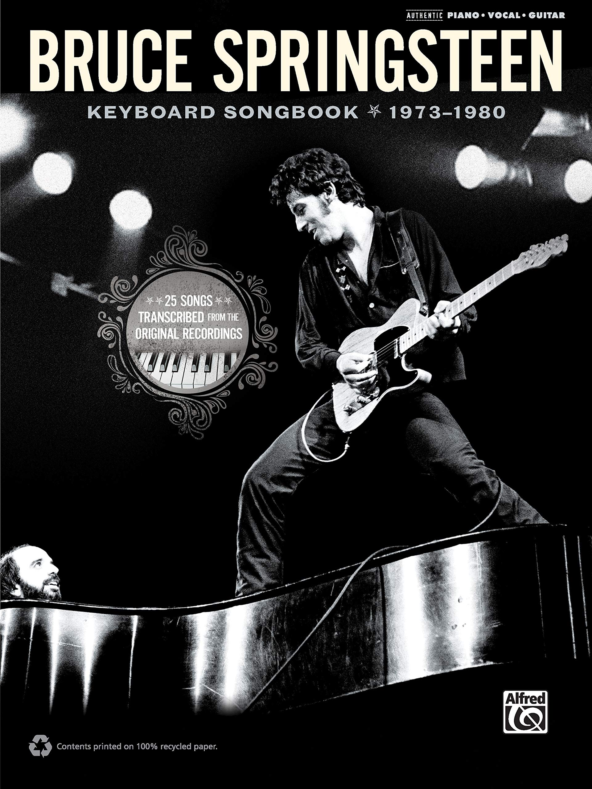 Bruce Springsteen -- Keyboard Songbook 1973-1980: Piano/Vocal ...