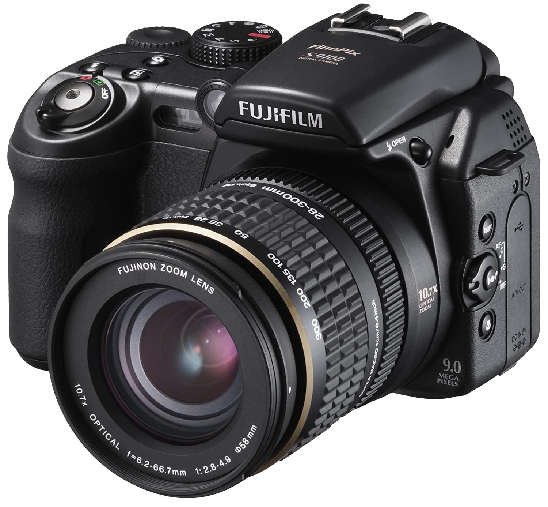 Amazon.com : Fujifilm Finepix S9100 9MP Digital Camera with 10.7x ...