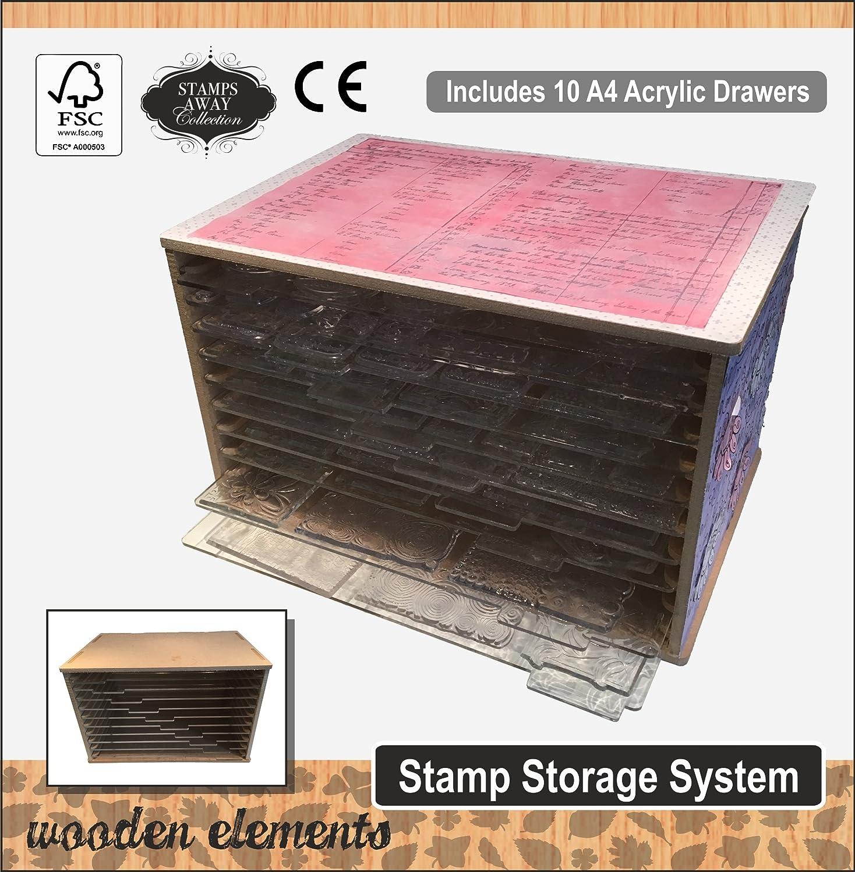 Stamps Away MDF Clear Stamp Storage Unit MDFDIESTORAGE