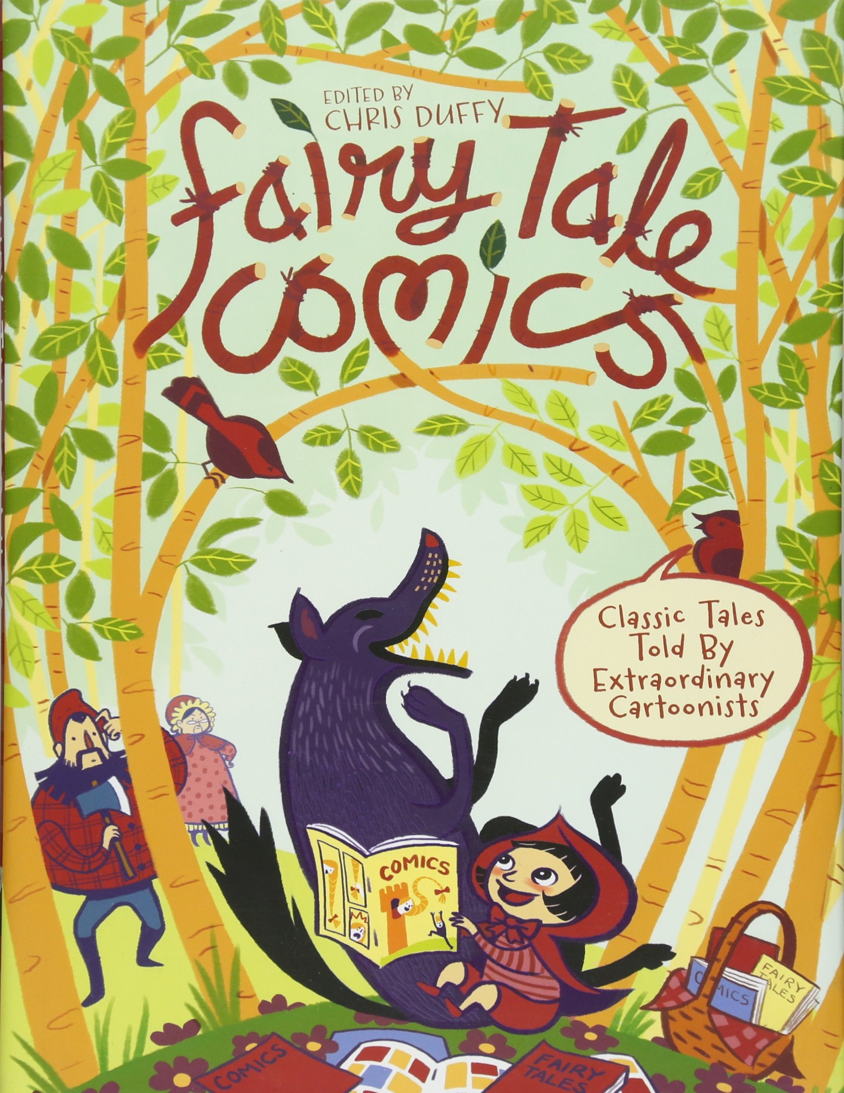 Amazon com: Fairy Tale Comics: Classic Tales Told by