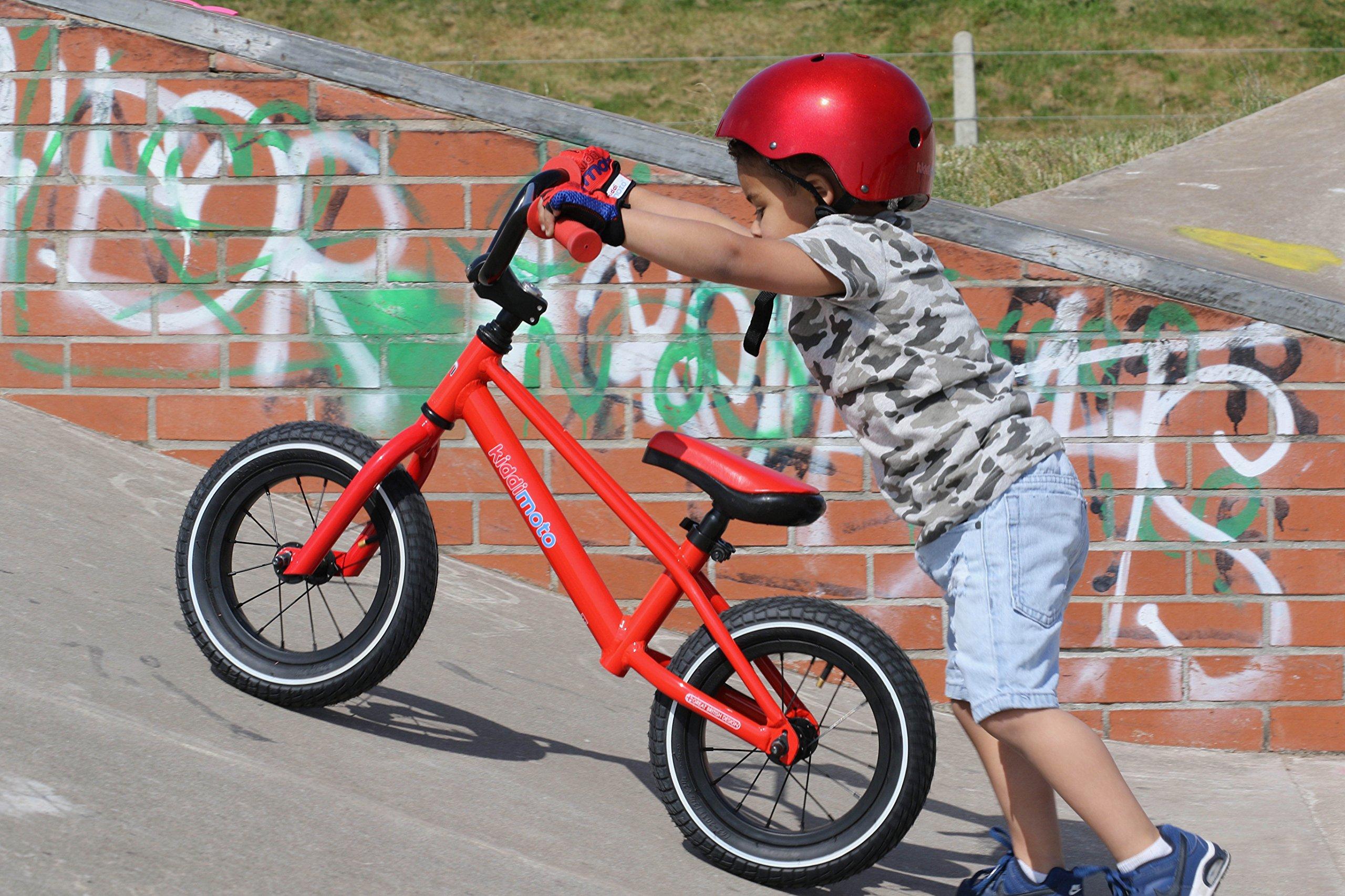 Kiddimoto BMX Running/Balance Bike, Red by Kiddimoto (Image #5)