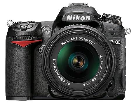 Amazon Nikon D7000 162 Megapixel Digital SLR Camera With 18 55mm Lens Black Photo