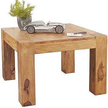 Wohnling Couchtisch Massiv Holz Akazie 60 Cm Breit Wohnzimmer Tisch