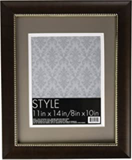 Amazoncom Wall Frame Black Gallery 10 X 13 Matted To 8 X 10 Frame