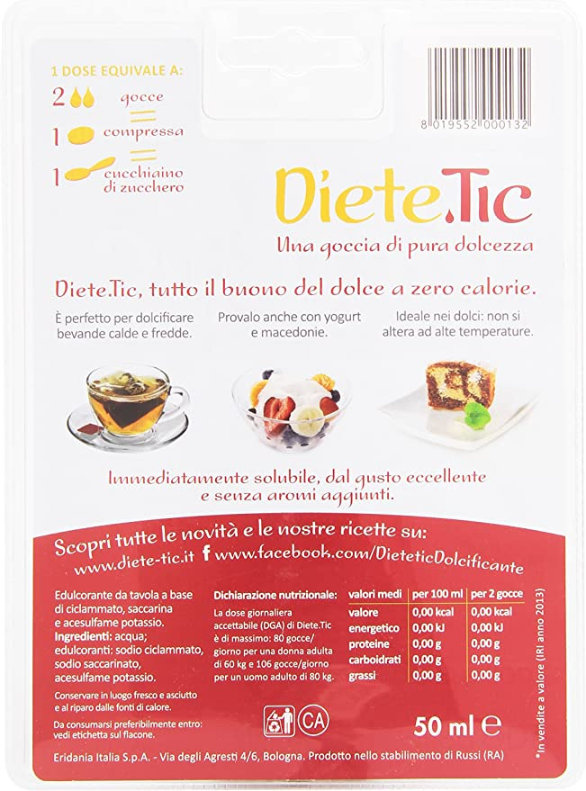 diete tic fa male)
