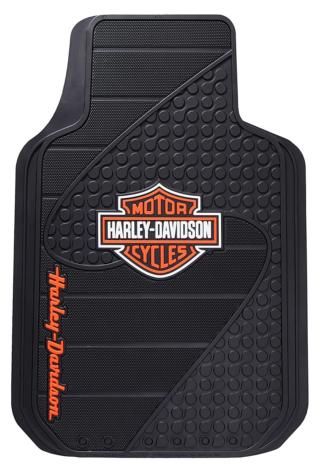 Plasticolor 001384R01 Universal Fit Harley B&S Factory Floor Mat Harley-Davidson